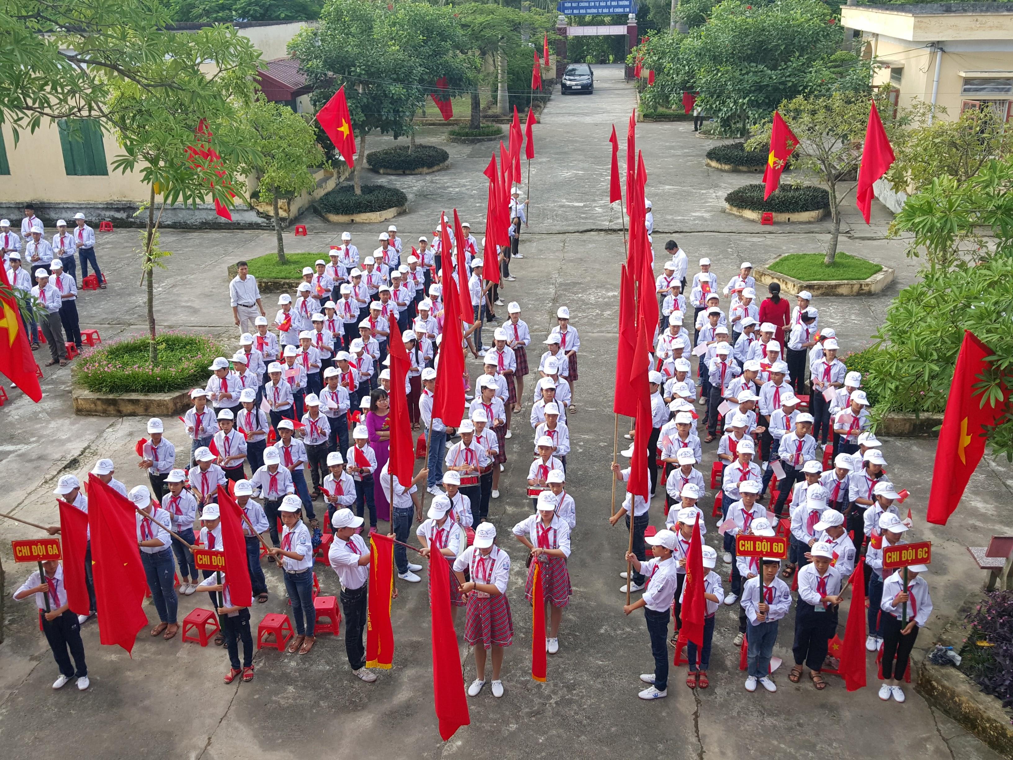 Chùm ảnh lễ khai giảng năm học 2017 – 2018